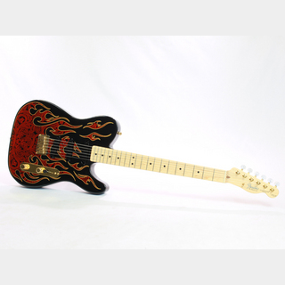 Fender James Burton Telecaster Red Paisley Flames - ジェームス・バートンシグネイチャー / USED -