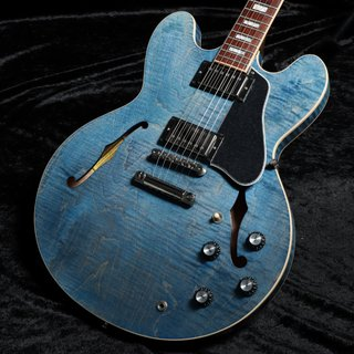 Gibson ES-335 Figured Ocean Blue Stain【御茶ノ水FINEST_GUITARS】