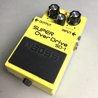 BOSS SD-1 SUPER Over Drive 【USED】