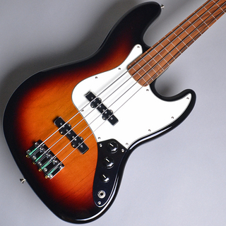 Fender Player Jazz Bass Fretless Pau Ferro PF 3 Tone Sunburst (3TS) 【S/N:MX18114026】
