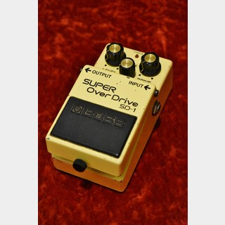 BOSS SD-1 Super Over Drive【USED】【日本製】