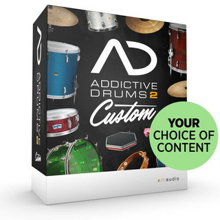 XLN Audio Addictive drums2 Custom