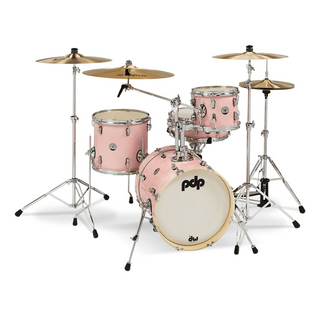 "PDP PDNY1604/PR New Yorker Compact Kit 16"",10"",13"",14"" / Pale Rose Sparkle"