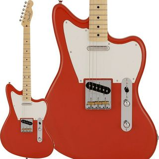 Fender Made in Japan 2021 Limited Offset Telecaster (Fiesta Red/ Maple Fingerboard)