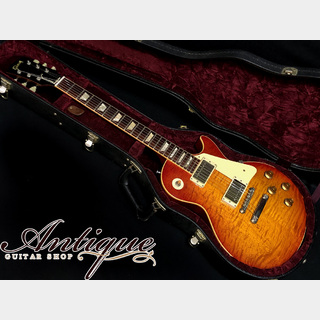 "Gibson Custom Shop Historic Collection 1959 Les Paul Standard 2003年製 Washed Cherry 3.97kg ""Killer Figured Top"""