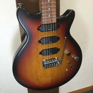 Kz Guitar Works Kz One Solid 3S11 Synchro Matt 3-Tone Sunburst