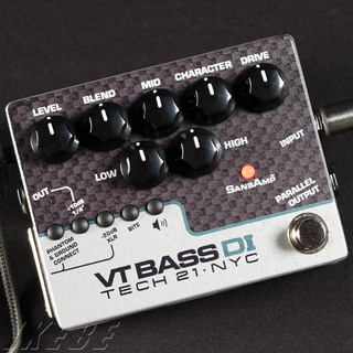 Tech 21 VT BASS DI (Amp Simulator+DI box) 【正規輸入品】