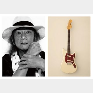 Fender Made in Japan CHAR MUSTANG Rosewood Fingerboard Olympic White 【横浜店】