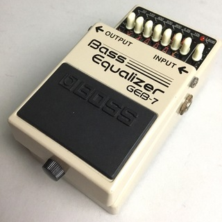 BOSS GEB-7 Bass Equalizer 【USED】