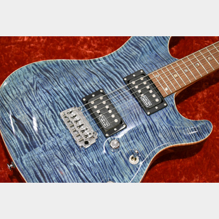 SCHECTER RX-24-CTM-VTR -Blue Topaz- 【5A Premium Flamed Maple Top】