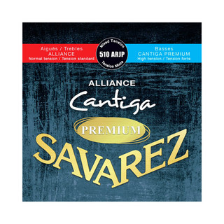 SAVAREZ 510 ARJP Mixed tension ALLIANCE / Cantiga PREMIUM クラシックギター弦×6セット