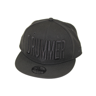 DRUMMERS TOP TEAM DTT07 DTT X NEW ERA BLACK 9FIFTY Youth (for Kids) ドラマーズ トップ チームキャップ キッズ用