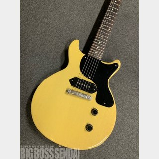 Gibson Custom Shop 1958 Les Paul Junior Double Cut VOS TV-Yellow