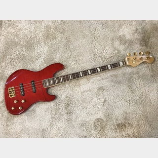 Fender American Deluxe Jazz Bass FMT Crimson Red Burst【中古品】【2002年製】
