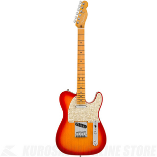 Fender American Ultra Telecaster,Maple Fingerboard,Plasma Red Burst【小物セットプレゼント!】
