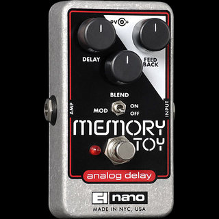 Electro-Harmonix Memory Toy Analog Delay With Modulation 【期間限定エレハモ特価!!送料無料】
