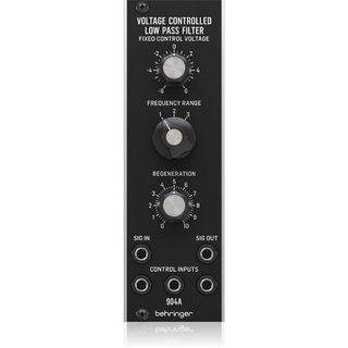 BEHRINGER 904A VC LOW PASS FILTER アナログ ローパスVCFモジュール【WEBSHOP】