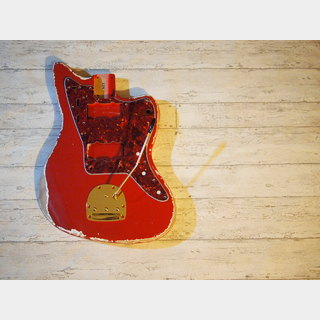 MJTCustom Aged Alder Jazzmaster Body Dakota Red