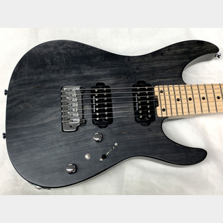 SCHECTER NV-7-24-M-AS-W 7string (Carbon Tint) SN:6077 【特注品】【7弦】☆チョイキズ特価品☆