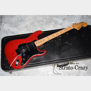 "FenderStratocaster '80 Wine Red/Maple neck ""Full original/Near Mint condition"""