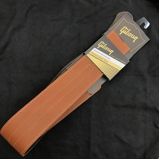 Gibson The Classic Leather Guitar Strap -BROWN- 【ギブソンギターストラップ】【即納可】