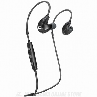 MEE Audio X7Plus Stereo Bluetooth Wireless Sports In-Ear HD Headphones with Memory Wire