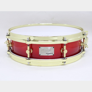 "canopus 【USED】カノウプス Birch 14""x4"" BR-1440 GoldParts CrimsonFadeLQ"