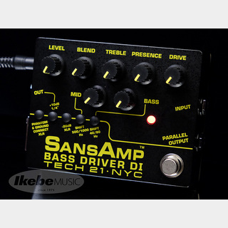 Tech 21 SANSAMP BASS DRIVER DI V2 【正規輸入品】 【即納可能】