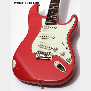 RS Guitarworks Old Friends CONTOUR GREENGUARD Fiesta Red 2014