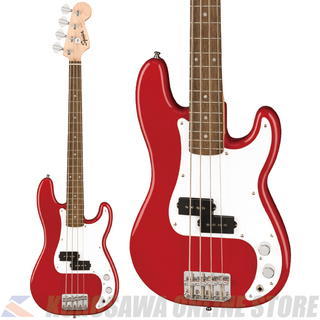 Squier by Fender Mini P Bass Laurel Fingerboard -Dakota Red-【Nine Musicアクセサリーパックプレゼント!】