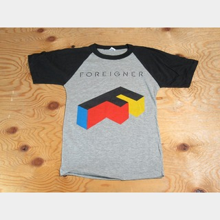 ヴィンテージFOREIGNER Tour 1985 Agent Bassball T-Shirt BK&G 【渋谷店】