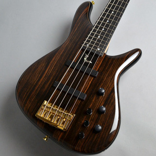 Sugi NB5E Active Macassar Ebony/Ash (ME/ASH) Natural アクティブ5弦ベース