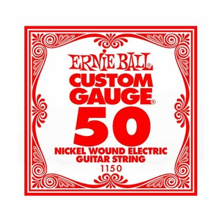 ERNIE BALL 1150 NICKEL WOUND 050 エレキギター用バラ弦
