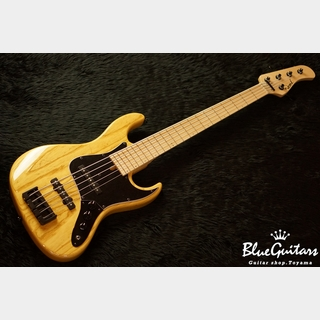 Wood Custom Guitars Vibe Standard-5 19 pitch #055 - Natural