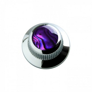 Q-PartsUFO KNOB TYPE [KCU-0707/Purple Abalone Shell in Chrome] 【展示品処分特価】