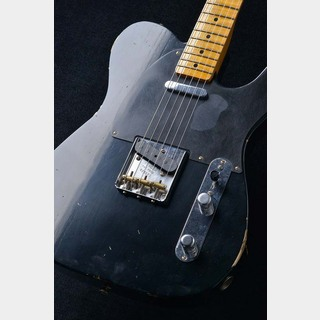 Fender Custom Shop Custom Built 1951 Nocaster Relic ~ Super Faded Aged Black ~ ≒3.29kg S/N: R18373