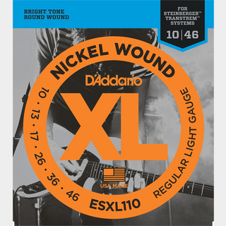 D'Addario 【新品】EXL110/Regular light/NICKEL WOUND/【10-46】