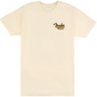Fender Acoustasonic Tele T-Shirt, Cream,M【心斎橋店】