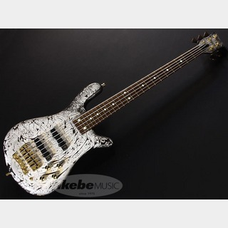 "WarwickCustom Shop Streamer LX 5 ""Galaxy Storm White/White LED""[#J163073-18]"