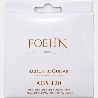 FOEHNAGS-120 Acoustic Guitar Strings 12strings Light 80/20 Bronze 12弦アコースティックギター弦
