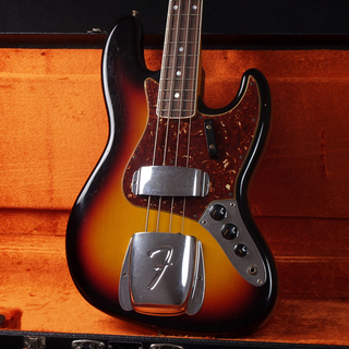 Fender Custom Shop Time Machine Series 1966 Journeyman Relic Jazz Bass 3-Color Sunburst