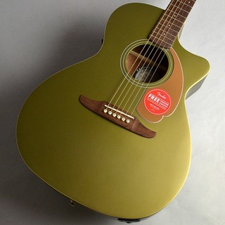 FenderNewporter Player/Olive Satin エレアコギター