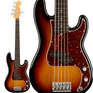Fender American Professional II Precision Bass V (3-Color Sunburst/Rosewood)【2021年2月以降入荷予定】