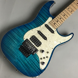 TOM ANDERSON Drop Top Classic Bora to Transparent Blue Burst with Binding