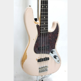 Fender Flea Jazz Bass Rosewood Fingerboard / Roardworn Shell Pink