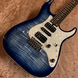 T's Guitars DST-Pro24/AAAAA Flame Maple Top -Trans Blue Denim Burst- 【分割48回まで無金利キャンペーン中!!】