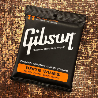 Gibson 【在庫一掃大特価】BRITE WIRES SEG-700ML [11-50][Medium Lights]【G-CLUB TOKYO】