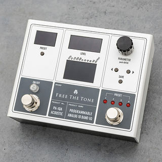 Free The Tone PA-1QA (for Acoustic)  PROGRAMMABLE ANALOG 10 BAND EQ