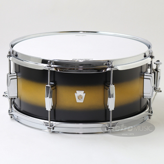 "Ludwig LS664XXU2 [Club Date 14"" × 6.5"" / Black/Gold Duco]【メーカー廃番特価品】"