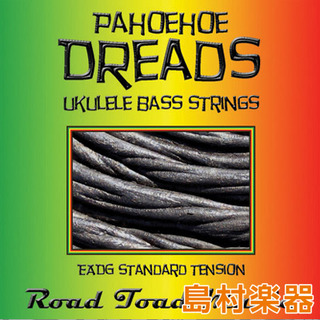 KALA RT-COLOR ウクレレ弦 ベース用 ROAD TOAD PAHOEHOE DREADS STRINGS